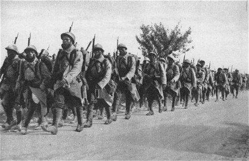 Französische Kolonialtruppen