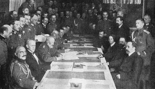 Erster Weltkrieg Waffenstillstand