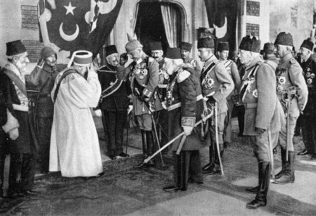Kaiser Wilhelm II. in Konstantinopel