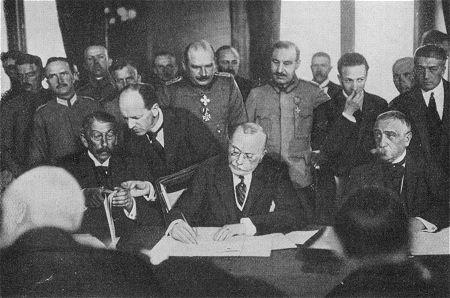 Friedensvertrag Erster Weltkrieg
